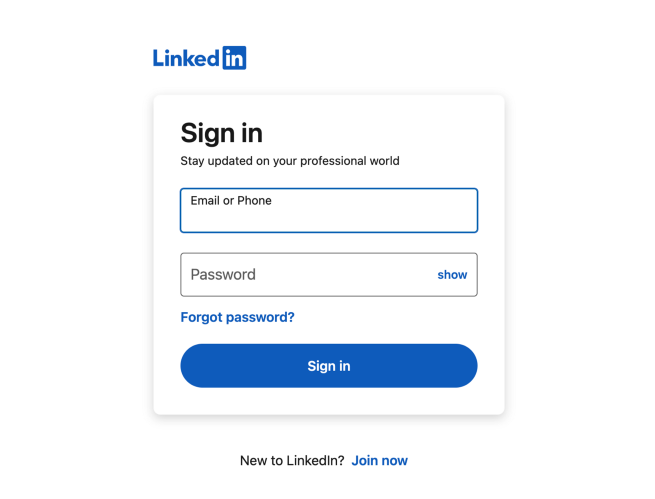 登录页需要注意的设计细节和逻辑