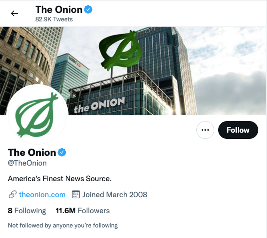 明明是假的,为什么洋葱新闻还这么受欢迎?
