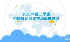 2021年第二季度中国移动阅读市场季度盘点