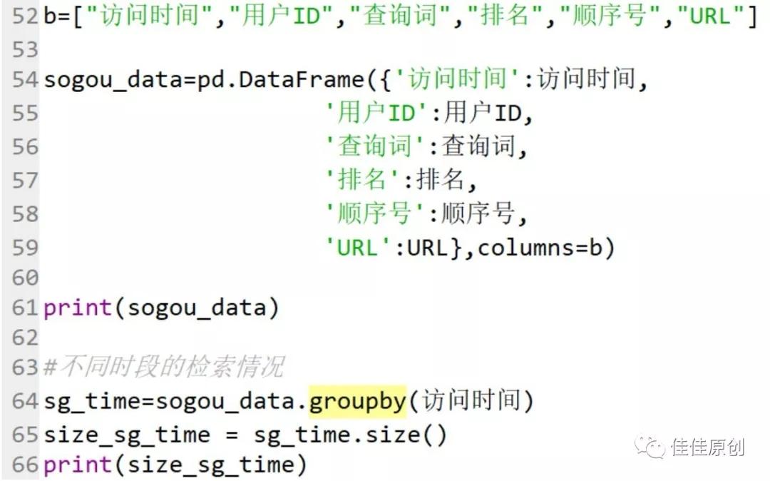 基于Python的搜索引擎检索日志数据分析插图2